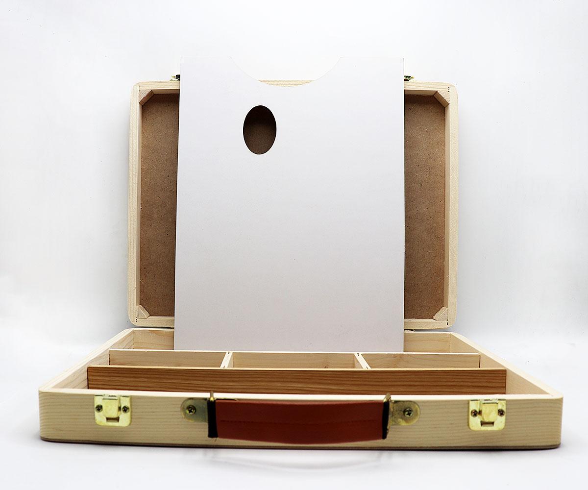 جعبه نقاشی با پالت پارس بوم