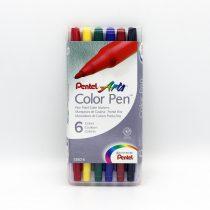 ماژيک 6 رنگ پنتل S360-6