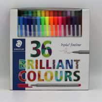 ست 36 رنگ روان نويس تريپلاس استدلر