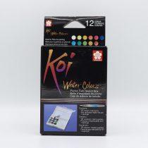 آبرنگ 12 رنگ ساکورا همراه قلم آبرنگ