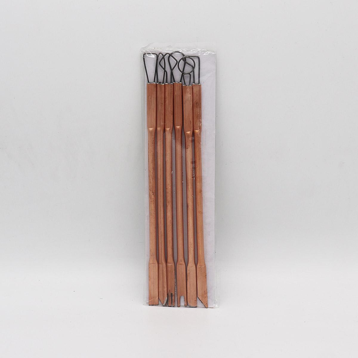 ست ابزار گل کني 6 عددي فلزي
