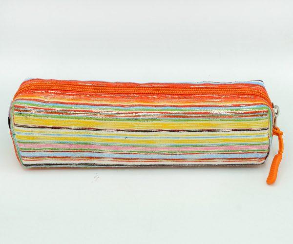 جامدادي تک زيپ مکعبي نارنجي - ZOOM