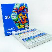 آبرنگ تيوبي 18 رنگ ريوز