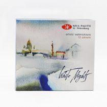 آبرنگ 12 رنگ سنت پترزبورگ - White Night