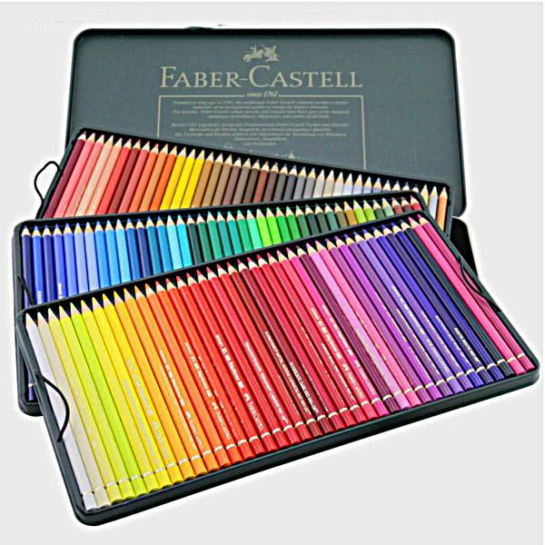 ست مداد رنگی پلی کروم 120 رنگ
