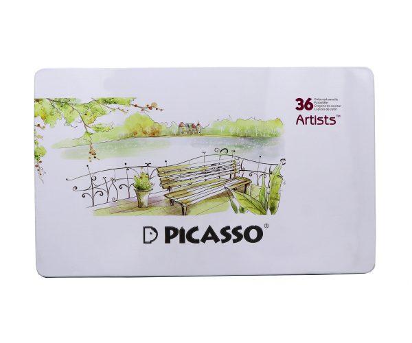 مداد رنگي 36 رنگ آرتيست فلزي - Picasso
