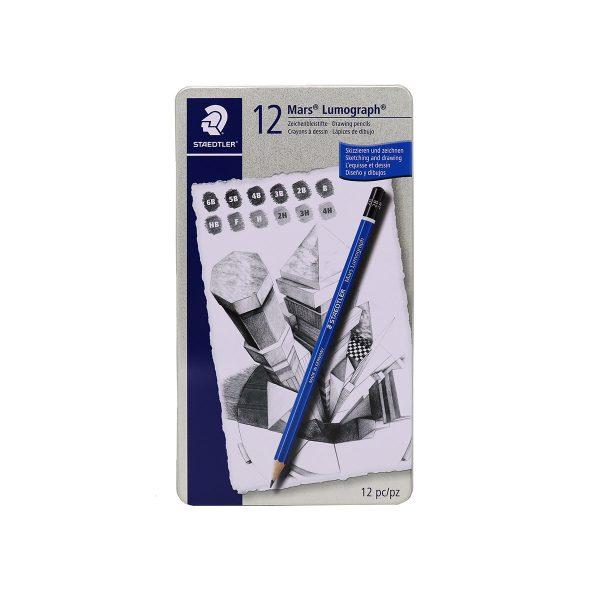 ست مداد طراحي 12 تايي استدلر